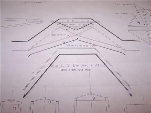 Building A Wire Landing Gear