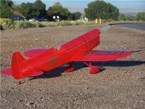 Giant Scale RC AIrplane Printed Plans Miss Los Angeles Brown B-2